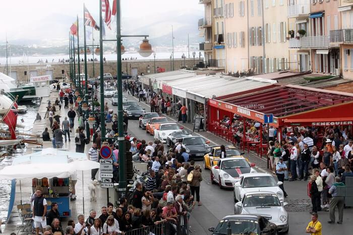 Rallye Porsche Saint-Tropez