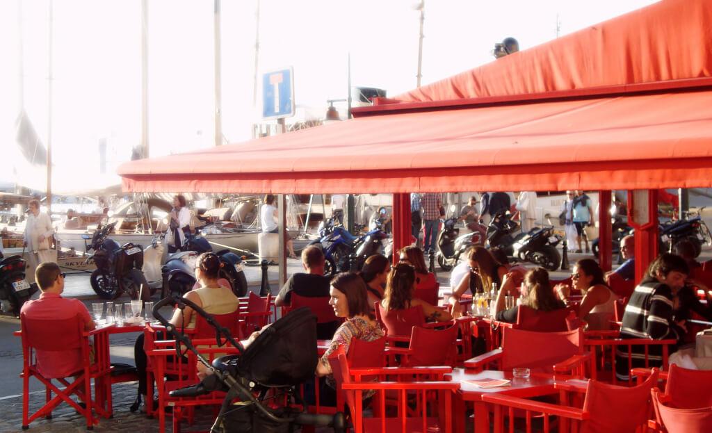 Balade sur le port de Saint-Tropez