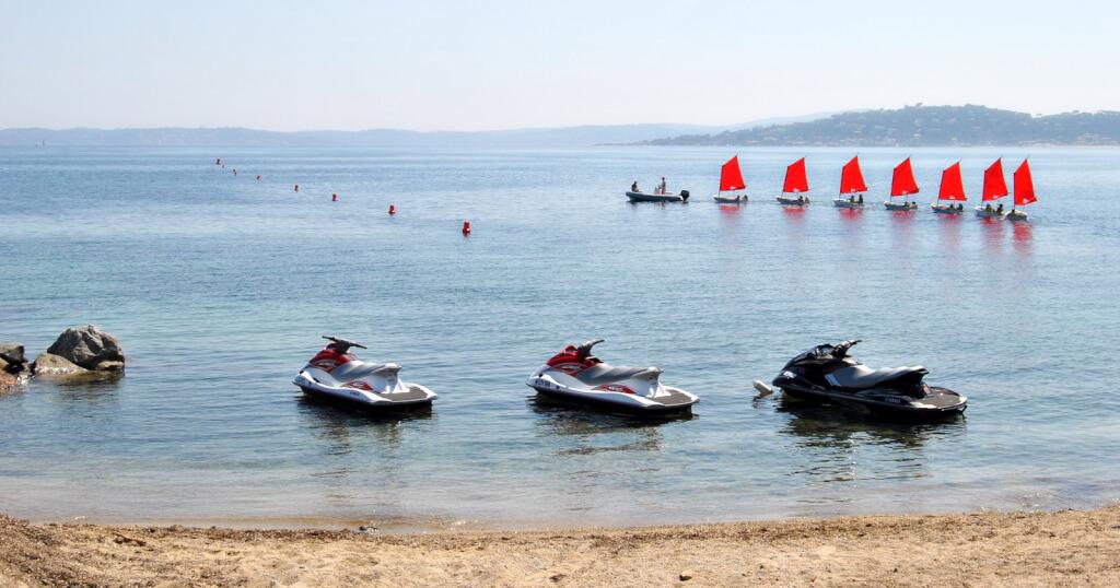 Scooter de mer Les Issambres