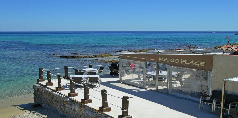 Restaurant de plage Sainte-Maxime