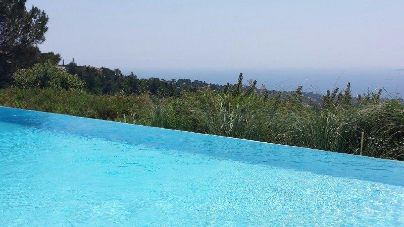 villa avec piscine les issambres