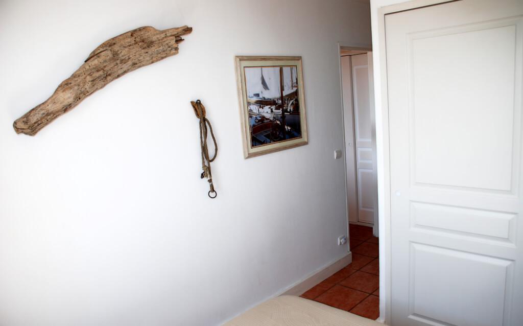 Chambre parents Les Issambres côte d'Azur