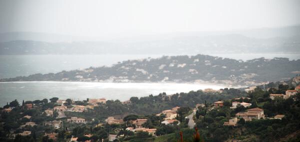 Tempête à la Côte d'Azur