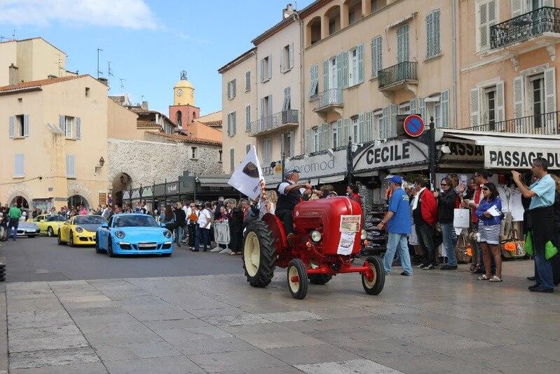 Rallye Paradis Porsche Saint-Tropez