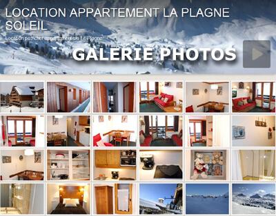 Location appartement La Plagne Soleil